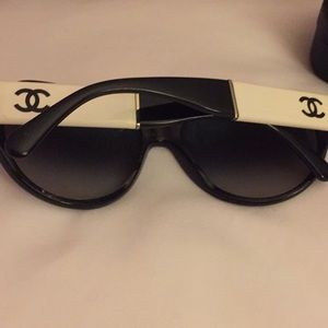 Authentic Channel Sunglasses